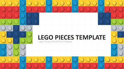 Lego Powerpoint Template Slidemodel Lego Templates Design
