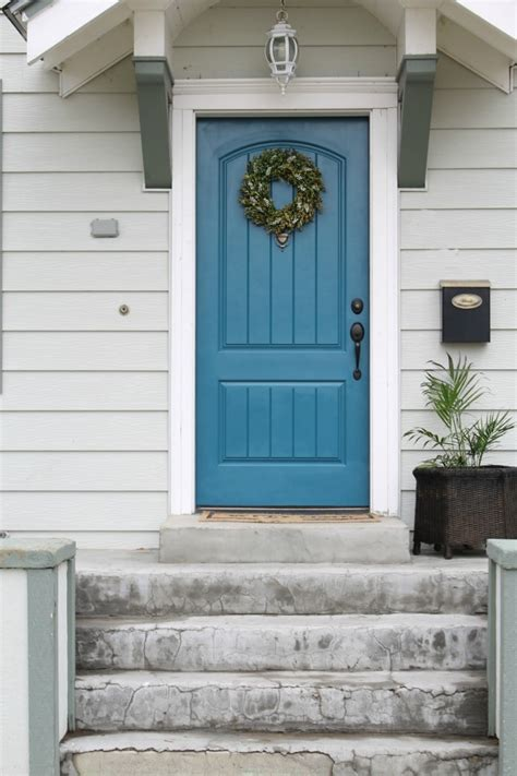 painting exterior door painted exterior front door the wicker house