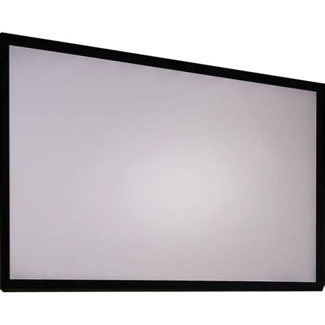 Fixed Frame Screen 133 Inci White Jk draper 252288 clarion 65 x 116 quot fixed frame screen 252288
