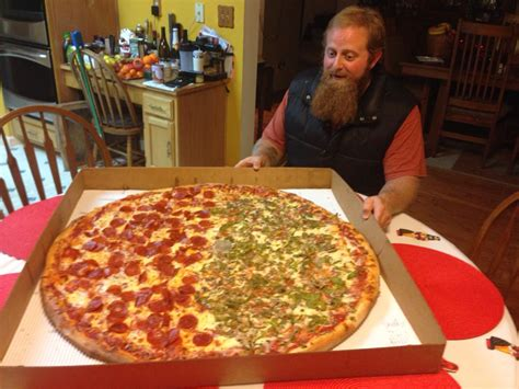 Coon Light Giant Pizza Pics
