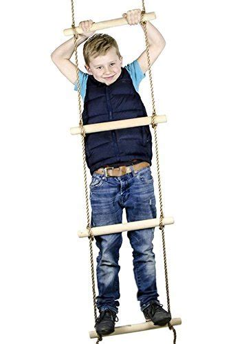climbing rope swing set accessory 6 ft climbing rope ladder for kids swing set
