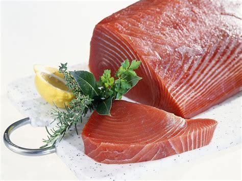 Fish Tuna Loin tuna selection and storage fresh and canned