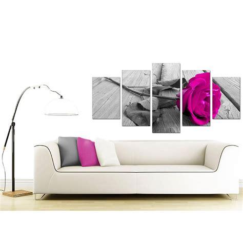Big Bow Set Size M Xl Pink Large Pink Canvas Prints 5 In Black White