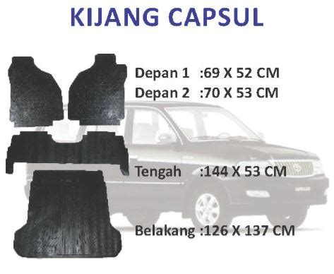 Karpet Mobil Kijang Kapsul kijang kapsul automotive carpet