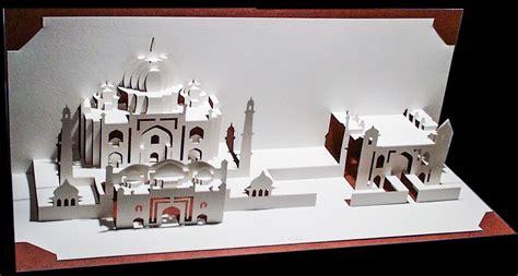 Taj Mahal Pop Up Card Template by Taj Mahal Ingrid Siliakus Popup Card Shop
