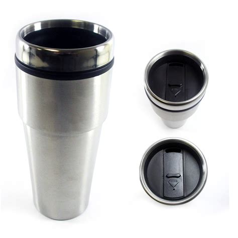 Capella Espresso 16oz 16oz cup insulated coffee travel mug stainless steel wall thermos tumbler
