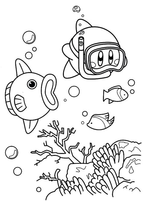 baby kirby coloring pages pretty kirby coloring pages contemporary exle resume