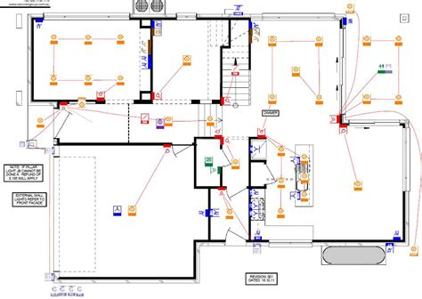 electrical floor plan building our castle fowler homes october 2011