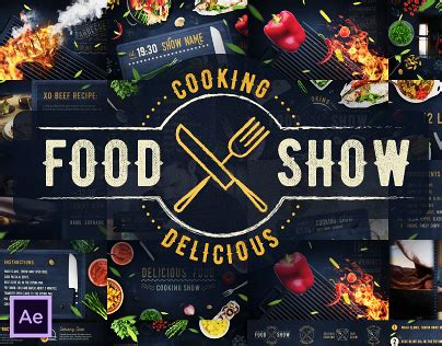Cooking Show Template Cooking Delicious Food Show After Effects Template On