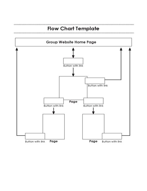 Simple Flow Chart Template Free Download Simple Flow Chart Template