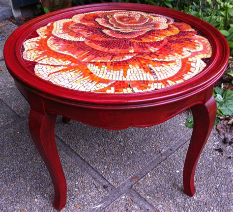 table exterieur mosaique mosaic tables on mosaic table tops mosaics and tabletop