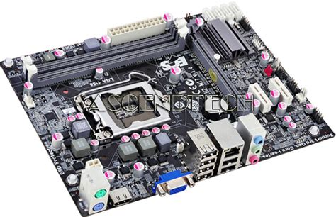 Motherboard Ecs H61h2 Mv V10 Vga ecs h61h2 m17 v1 0 lga 1155 intel h61 ddr3 hdmi vga micro