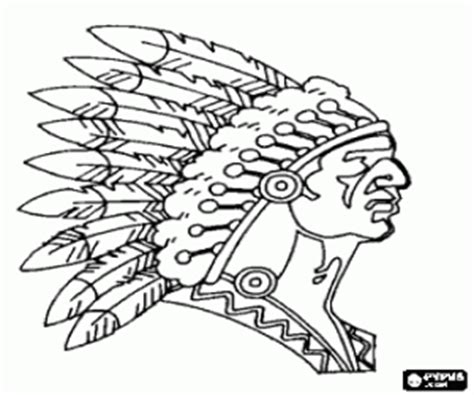 indian chief coloring page native americans or indians coloring pages printable games 2