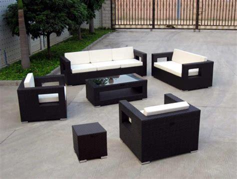 meubles jardin la vie en plein air rotang d 233 coration