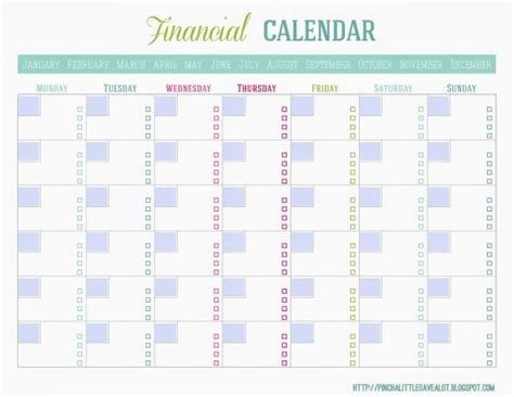 bills calendar template blank monthly bill paying calendar keep track of all your