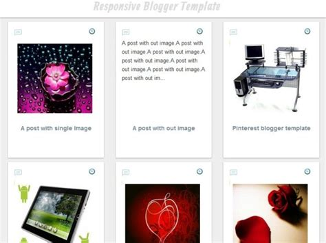 pinterest clone layout pinterest clone responsive blogger template with grid layout
