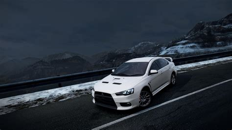 white mitsubishi evo wallpaper mitsubishi lancer evolution x wallpaper wallpaper studio