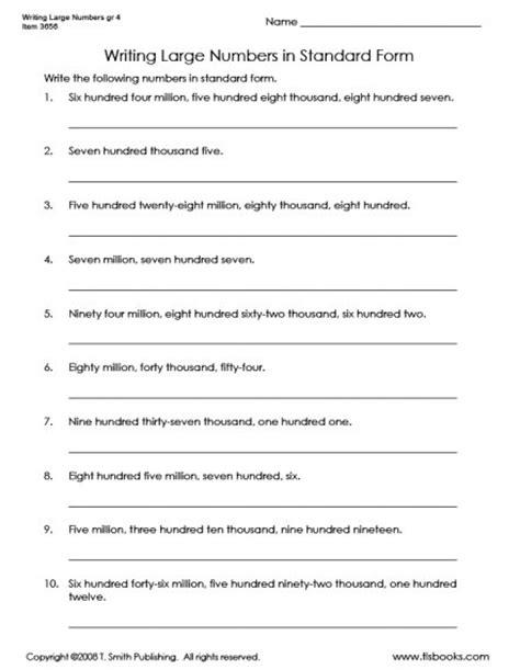 numbers in standard form worksheet numbers in word form worksheets search results calendar 2015