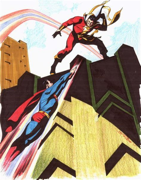 superman vs captain marvel shazam superman vs captain marvel by steve rude crossovers hq