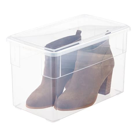 shoe storage container our shoe box the container store