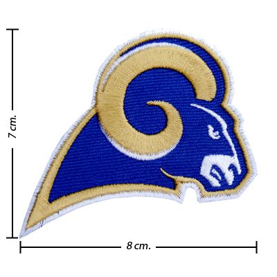 50 dollar sew in st louis st louis rams style 1 embroidered sew on patch