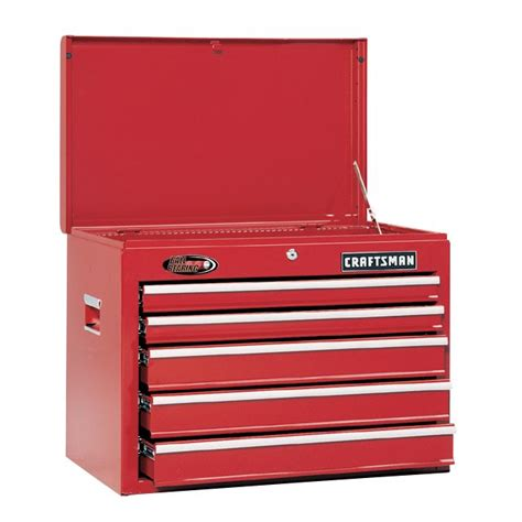 Craftsman 5 Drawer Tool Chest by Craftsman 26 In 5 Drawer Bearing Chest Top Chest