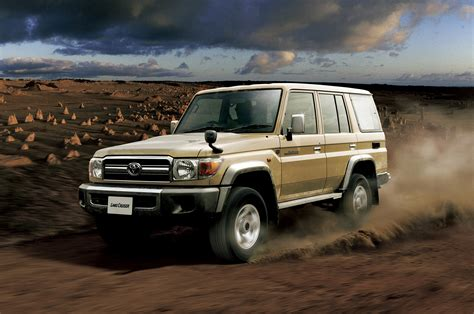toyota land toyota land cruiser 70 series returns in japan motor