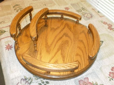 Lazy Podsetir Holder four seasons furnishings amish made furniture amish made lazy susan with napkin holder