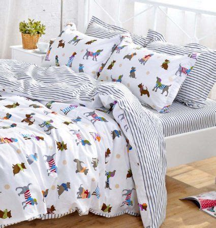 puppy bedding set yoyomall cotton bedding set puppy duvet cover set for