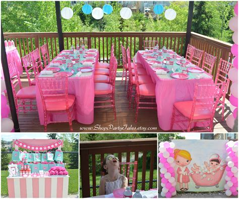 themes for birthday pictures party tales girl parties