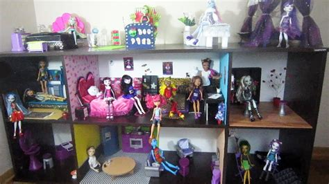 how to make a monster high doll house my monster high doll house 2014 youtube