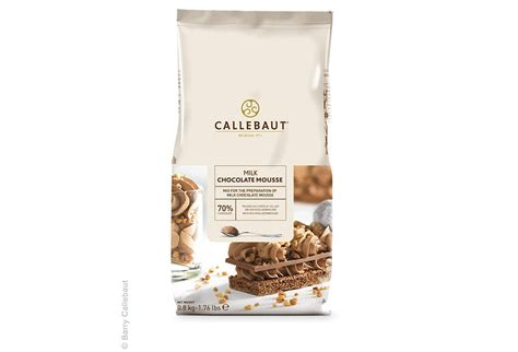 callebaut milk chocolate mousse mix 800 g