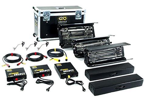 cool flo lighting kit kino flo select 3 fluorescent light kit 120v