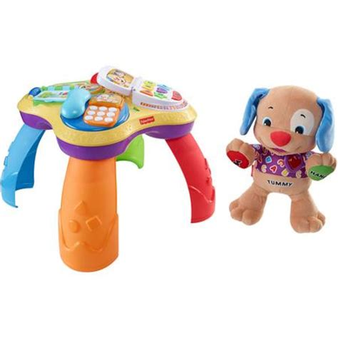fisher price laugh learn to play puppy fisher price laugh learn puppy friends learning table with to play puppy just