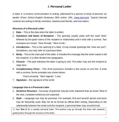 44 Personal Letter Templates Pdf Doc Free Premium Templates Family Letter Template 2