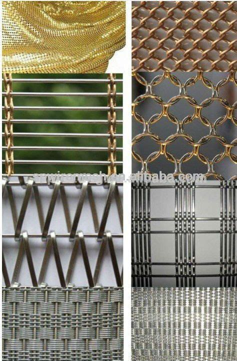 mesh interieur metal mesh drapery metal mesh curtain decorative woven