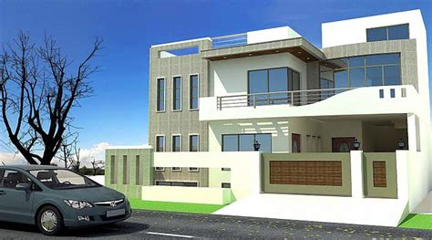 image modern house design front view