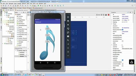 wallpaper android studio android studio lesson 2 3 add music to button youtube