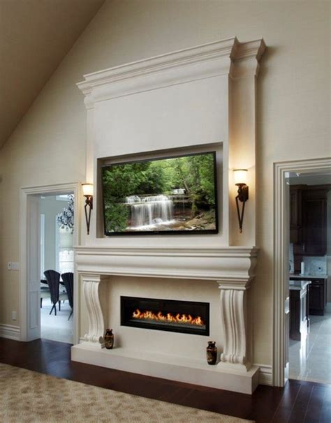 living room mantle new york linear fireplace mantel transitional living