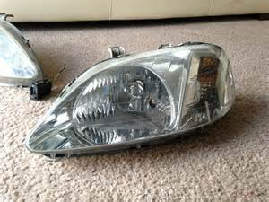 fs 99 00 edm civic valeo headlights clean honda tech
