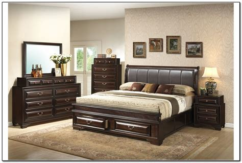 king size storage bedroom sets beds home design ideas