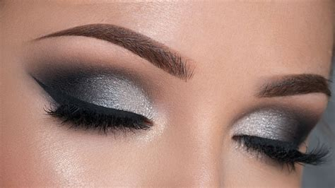 Eyeliner Silver black and silver eyeshadow tutorial www pixshark