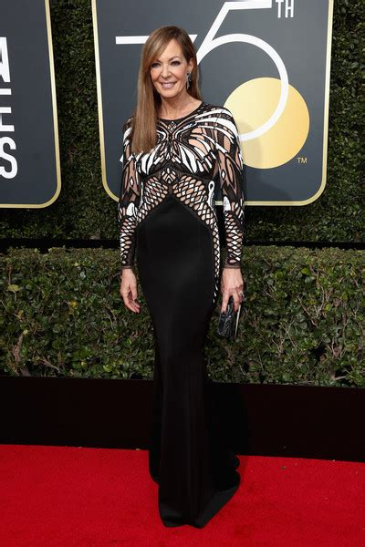 Dress Allison allison janney form fitting dress newest looks stylebistro