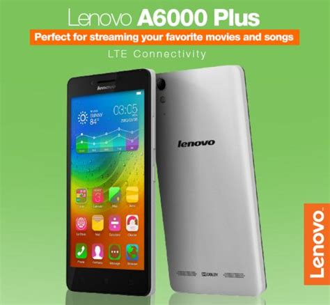 Lenovo Android A6000 Plus lenovo a6000 plus a7000 plus vibe p1m price and specs comparison gbsb techblog your daily