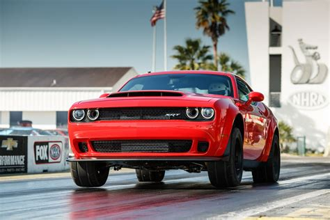 2018 dodge goes official as the world s fastest 1 4
