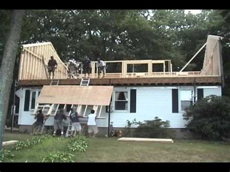 Add Floor Raising The Roof In One Day For The Home