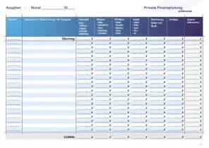 Kostenlose Vorlage Haushaltsplan Vorlage Haushaltsbuch Institut Finanzberatung
