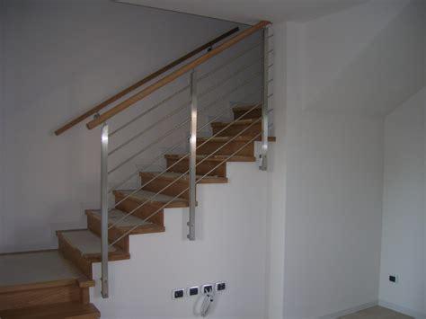 corrimano in alluminio corrimano scale legno metallo acciaio inox