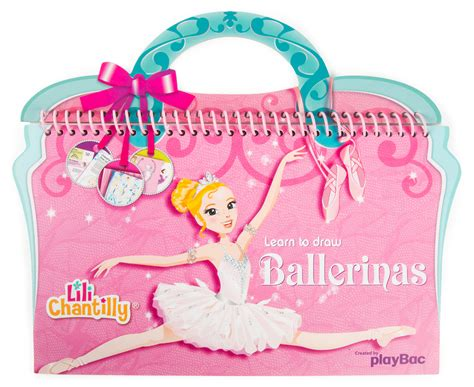 Learn To Draw Ballerinas Lili Chantilly 1 catchoftheday au lili chantilly learn to draw ballerinas