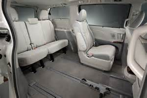 sienna reclining seats 2013 toyota sienna reviews and rating motor trend